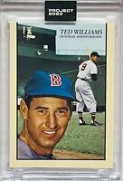 TED WILLIAMS 2020 TOPPS BOSTON RED SOX SLABBED UNCIRCULATED SEALED BASEBALL CARD