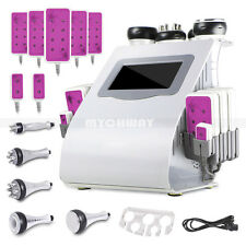 6in1 Vacuum Cavitation Ultrasonic RF Cellulite Removal Machine Lipo Laser Shaper