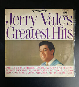 Jerry Vale's Greatest Hits 30 cm LP Record