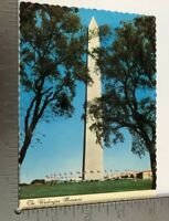 Vintage Postcard The Washington Monument Washington D.C.