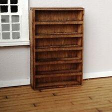 Dollhouse Miniature Quarter Scale Cassin Style Wide Bookcase KIT -- 1:48