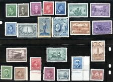 LOT 66498 CANADA  MINT NH CANADIAN STAMP  COLLECTION FROM 1940's