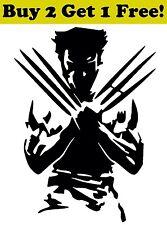 WOLVERINE Vinyl Decal Sticker Car Window Wall X-Men Marvel Hero Jackman Logan