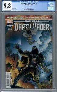 Star Wars: Darth Vader #9  Marvel Comics  Aaron Kuder Cover  1st Print   CGC 9.8