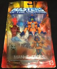 Masters Of The Universe, Man-E-Faces Action Figure, Sealed And Rare