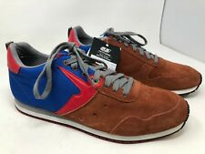 New!! Men's Diesel CR155 CR055 55DSL size 11 copper/red/blue shoes 64S