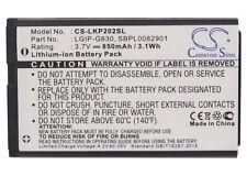 LGIP-G830 Battery For LG KG120, KG202, KG290, KP202, NX225 (850mAh)