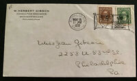 1939 Royal Train Canada  First Day Cover FDC To Usa King George VI Royal Visit