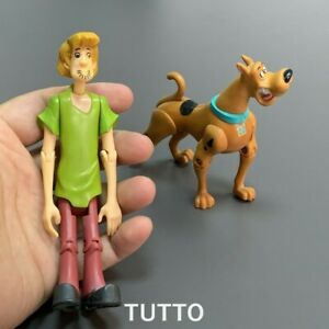 """2x SCOOBY-DOO Shaggy & Shaggy Dog Classic Monster 5"""" Action Figure Kid Toy Gift"""