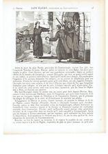 """1825 Vie des Saints: """"Saint Flavien Patriarche de Constantinople"""" San Flaviano"""