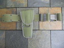US Military Bianchi M12 Universal PIstolHolster & Canteen Belt, Olive Drab Nylon