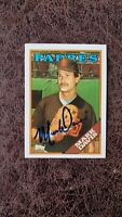 1988 Topps Mark Davis #482 - San Diego Padres - Autographed!