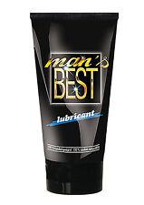 MAN'S BEST LUBE Premium Quality Lubricant CONDOM SAFE Sex Aid 40ml JOY DIVISION