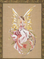MD Mirabilia  N Corbett TITANIA QUEEN of the Fairies  cross stitch pattern MD 38