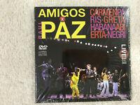 AMIGOS X RAUL PAZ CD CARMEN PARIS GRETA HABANA ABIERTA NEGRI NUEVO NEW