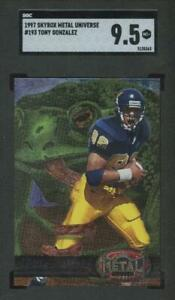 1997 Skybox Metal Universe #193 TONY GONZALEZ Rookie RC Chiefs SGC 9.5 MT+ JE5