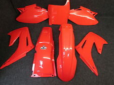 Honda CR125 CR250 04-07 X-FUN pieno completo tutto rosso kit in plastica PK1003