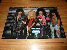 Vintage Vinnie Vincent Invasion Poster 23 X 35 Out of Print Kiss