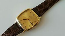 GENT'S VINTAGE GOLD PLATED OMEGA GENEVE AUTOMATIC WRIST WATCH