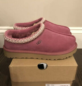 New UGG Women's Size 9 Tasman Slipper DOR Dark Rose Pink