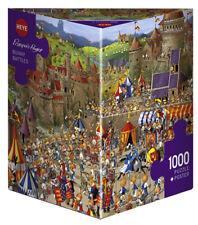 Heye Bunny Battles by Ruyer 1000 Piece Comic Cartoon Jigsaw Puzzle 29920