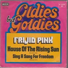 """7"""" Frijid Pink Hose Of The Rising Sun / Sing a Song For Freedom (Oldie)"""
