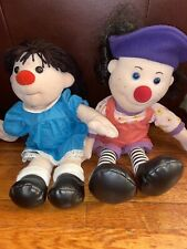 Big Comfy Couch Molly & Loonette Doll Soft Stuffed Plush Vintage 1995