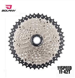 BOLANY 11-42T 11 Speed Cassette Freewheel Mountain MTB Bike Cassette Flywheel