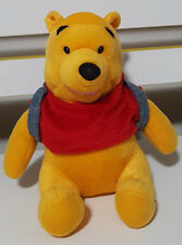 DISNEY WINNIE THE POOH TEDDY BEAR PLUSH TOY! KIDS TOY ABOUT 15CM SEATED SOFT TOY