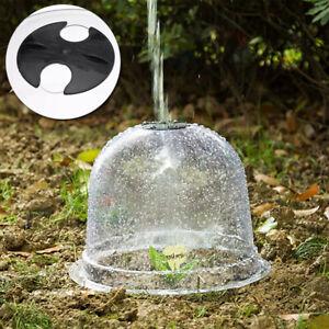 5Pcs Reusable Cloche Dome Plant Covers Plastic Greenhouse Freeze Protection Boxe