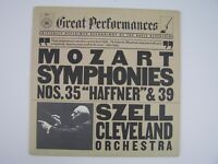 "Mozart / Szell, Cleveland Orchestra – Mozart: Symphonies Nos. 35 ""Haffner"" & 39"