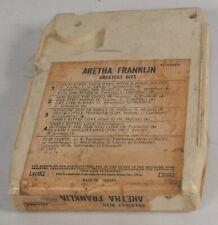 ⭐️ RARE 8-track / 8 track tape cassette ARETHA FRANKLIN SOUL QUEEN GREATEST HITS