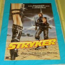 original STRYKER German movie poster