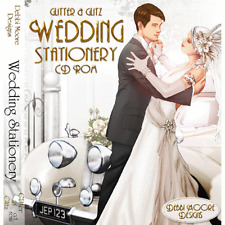 1 x Debbi Moore Designs Glitter & Glitz Wedding Stationery Double CD Rom 293275