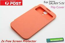 Brand new S-View Window Flip Cover Case for Samsung Galaxy SIV S4 GT-i9500 ORG
