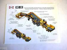 Blaw-Knox MC-30 Elevator Color Sheet