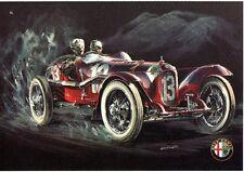 GA37- Stampa-mini Poster Alfa Romeo RL