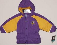 CHILD'S Vintage 90's Minnesota VIKINGS STARTER HOODED Jacket NWT YOUTH Size 2T
