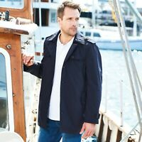 "Samuel Windsor Men's Short Trench Coat Overcoat Smart Jacket Sizes 38 - 50"" NEW"