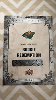 2020-21 20-21 UD Upper Deck Artifacts RC Rookie Redemption #195 KIRILL KAPRIZOV