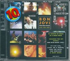 Bon Jovi. One Wild Night. Live 1985-2001 (2001) CD NUOVO It's My Life. Runaway
