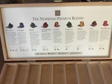Nespresso Discovery Box for 45 Capsules + 6 espresso cups and plates W/ rack Set