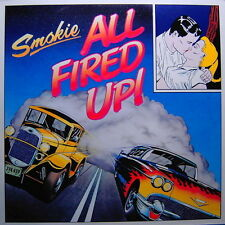 """12"""" Smokie All Fired Up (My Heart Est True, Cry In The Nuit) 80`s SPV (NM) TOP"""