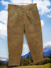 Wenig getragen leichte Gebrauchspuren Trachtenhose braune lange Lederhose Gr.54