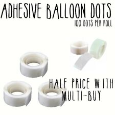 Glue Dots Sticky Craft Clear Adhesive Roll Party Wedding Balloon Decoration DIY