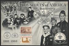 """15199 - Pfadfinder/Scouts, USA, großer Sonderumschlag """"50 Jahre Boy Scouts"""",1960"""