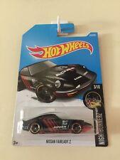 Hot Wheels 2017 Nissan Fairlady Z #357/365 Black Long Card