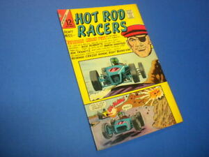 HOT ROD RACERS #10 Charlton Comics 1966 sports CARS