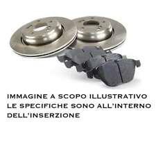 DISCHI FRENO + PASTIGLIE POSTERIORE FIAT CROMA 1.9 MJT MULTIJET 88 KW 120 CV
