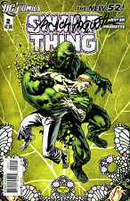 Swamp Thing #2 The New 52! Signed By Artist Yanick Paquette